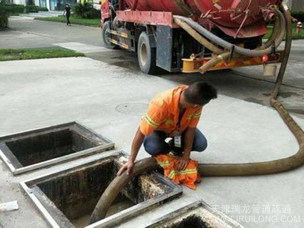 tian津清理fei水池